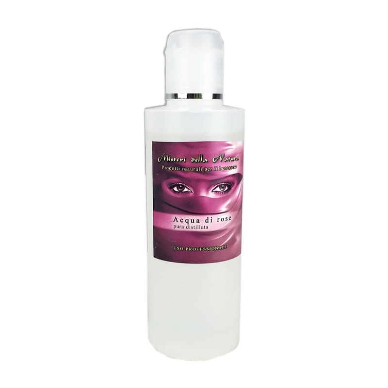 (6 PZ da 200 ml) Acqua di rose pura distillata